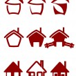 Real estate symbols — Stock Vector #4657840