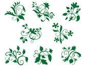 Décorations florales — Vecteur