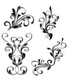 花の装飾 — ストックベクタ