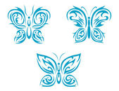 Butterfly tattoo — Stock Vector