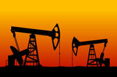 Oilfield — Stock Vector