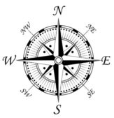 Compass symbol — Vecteur