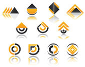 Set of symbols — Stock Vector