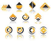 Ensemble de symboles — Vecteur
