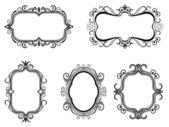 Vintage frames — Stockvector