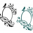 Vintage frames - Stock Vector