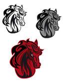 Horse tattoo — Stock Vector