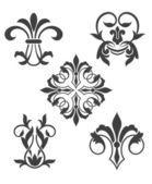 Vintage floral patterns — Stock Vector