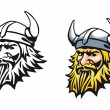 Ancient viking — Stock Vector