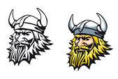 Ancient viking — Stock Vector