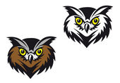 Owl mascot — Stock Vector