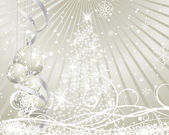Christmas background — Vecteur