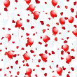 Balloons on hearts — Image vectorielle