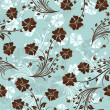 Seamless floral pattern — Stockvector #5243670