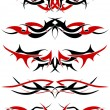 Tattoo set — Stock Vector #5360457