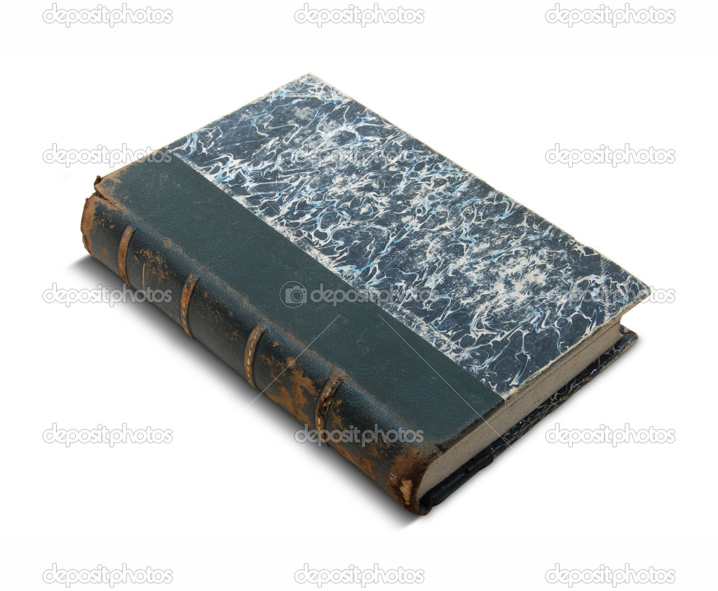 Old book bound in leather — Stock Photo #3955610