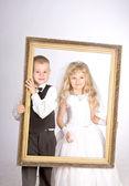 Little couple — Stockfoto