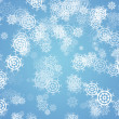 Royalty-Free Stock Photo: Winter background with snowflakes