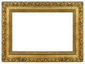 Old Vintage Gold Picture Frame — Stock Photo
