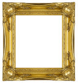 Ornate Gold Frame — Stock Photo
