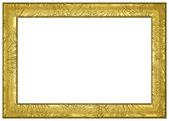 Gold Frame Border — Stock Photo
