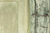 ржавый старый дверная защелка — Стоковое фото