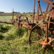 Rusting Old Farm Plough — Stock Photo #4311113