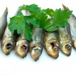Royalty-Free Stock Photo: Seven sprat