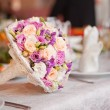 Wedding boquet — Stock Photo