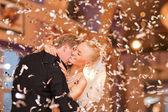 Coppia appena sposata — Foto Stock