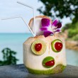 Royalty-Free Stock Photo: Exotic coconut cocktail