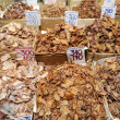 Stock Photo: Dried fish store