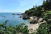 Tropical Lamai beach, Thailand — Stok fotoğraf