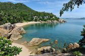 Lamai beach, Samui island, Thailand — Stock Photo