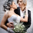 Beautiful couple in love — Stock Photo