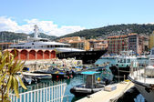 The harbour of Nice, France — Stockfoto