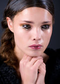 Crying young woman — Stock Photo