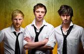 Three handsome guys — Stock Photo