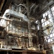 Stock Photo: Old industrial building interior