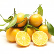 Fresh mandarines — Stock Photo