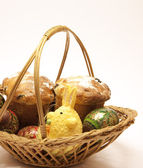 Easter wicker — Stock Photo