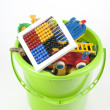 Toy Bucket — Stockfoto