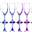 colorful glasses — Stock Photo
