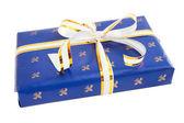 Cadeau bleu — Photo