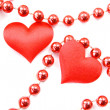 Stock Photo: Couple hearts