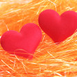 Two hearts — Stock Photo #4580272