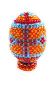 Egg from the beads — Stock Photo