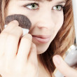 Stock Photo: Make-up brush