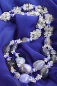 Blue chalcedony — Stock Photo