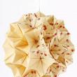 Handmade Origami Kusudama paper ball — Stock Photo
